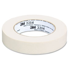 Paper masking tape, 12mmx55m, 72rl/ct, tan, sold as 1 carton