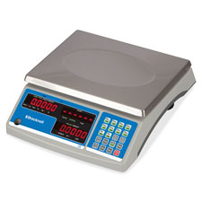 Digital counting scale, 60lb cap, tan, sold as 1 each