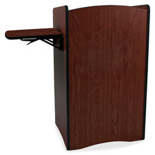 "Mobile computer lectern, multimedia, 44""x25.5""x44"", ast, sold as 1 each"