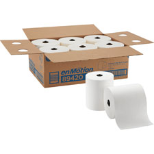 Touchless roll towel, 700', 6/ct, whie, sold as 1 carton, 30 roll per carton