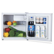 Compact refrigerator, 1.6l, white, sold as 1 each