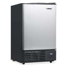 "Icemaker, 19l, 15-4/25""x17-18/25""x24-19/25"", stst, sold as 1 each"