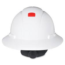 Full brim hard hat, uv, white, sold as 1 each
