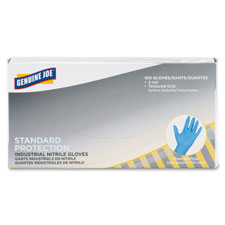 Nitrile gloves, 4mil, small, 100/bx, blue, sold as 1 box