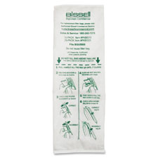Disposable vacuum bag, sealed filter bag syst, 10/pk, white, sold as 1 package