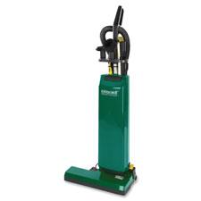Upright vacuum w/ tools, 14', 50' cord, 4.75qt cap, green, sold as 1 each