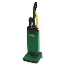 Upright vacuum w/ tools, 12', 48' cord, 5qt cap, green, sold as 1 each