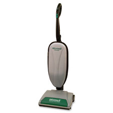 Lightweight upright vacuum, 14', 40' cord, white/green, sold as 1 each