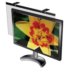 "Lcd protective glare filter,24"" widescreen monitors,bk, sold as 1 each"