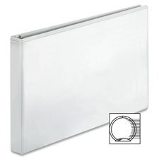 """Reference binder, 11""""x17"""", 1"""", white, sold as 1 each"""