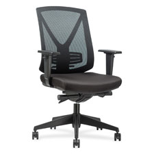 """Mid back chair, 27-3/4""""x28""""x41-1/2"""", black, sold as 1 each"""