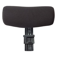 "Head rest, 12-1/5""x13-2/5""x6-7/10"", black, sold as 1 each"