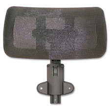 "Optional headrest, 11-4/5""x12-3/5""x6-3/10"", black, sold as 1 each"