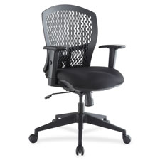"Plastic back chair, 26-1/2""x26-3/4""x41-1/4"", black, sold as 1 each"