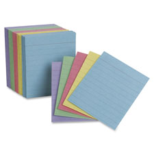 "Mini index cards, 3""x5"", 200/pk, assorted, sold as 1 package, 200 each per package"