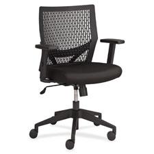 "Flex back task chair, 24""x24""x35-3/4"", black, sold as 1 each"