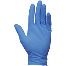 Nitrile gloves, small, 2.0 mil, 200/bx, arctic blue, sold as 1 box, 4 package per box
