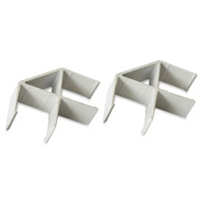 """Panel connector, 90 degree, 20/st, 2-1/2""""x3-7/8""""x1-1/2"""", am, sold as 1 set"""