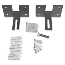 "Wall bracket panel, 20/st, 3-1/4""x4-1/2""x3-5/16"", am, sold as 1 set"