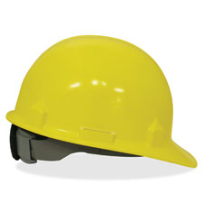 Safety helmet, 4 pt, rachet suspension,sz 6-1/2 to 8,yellow, sold as 1 each, 70 sheet per each
