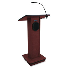 "Lectern w/ speaker, 150w power amp, 43""x21""15"", my, sold as 1 each"