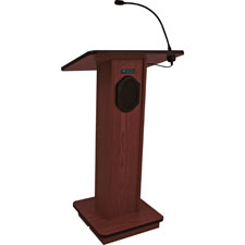 "Elite lectern w/ speaker, wireless, 43""x21""x15"", mhgy, sold as 1 each"