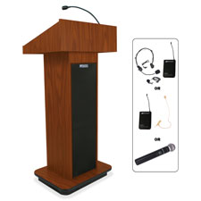 "Executive sound, column lectern, wireless, 43""x21""x15"", mok, sold as 1 each"