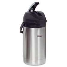 Airpot, 3.0l, stainless steel, sold as 1 each
