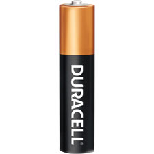 Duracell coppettop aaa batteries, 24/pk, black, sold as 1 package, 12 each per package
