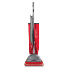 "Upright vacuum, 50' cord, 8.5""x17.5""x22.75"", red/silver, sold as 1 each"