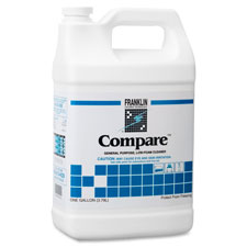 Compare floor cleaner, 1gal, white, sold as 1 each