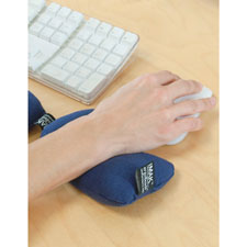 Wrist cushion f/mouse, black, sold as 1 each