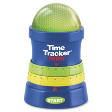 "Mini time tracker, 3-1/4""x4-3/4"", 3aaa reqd, multi, sold as 1 each"