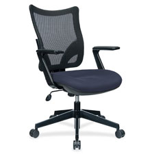 "Task chair, mesh back, 40.5""x20.7""x19.7"", black, sold as 1 each"