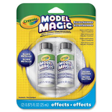 Model magic silver metallic effects, 2/pk, silver, sold as 1 package, 2 each per package