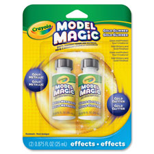 Model magic gold metallic effects, 2/pk, gold, sold as 1 package, 2 each per package