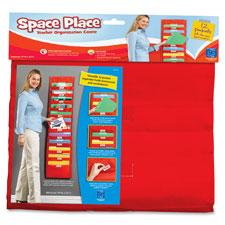 "Space place pocket chart, 12 pkts, 14""x55"", multi, sold as 1 each, 30 each per each"