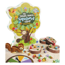 The sneaky snacky squirrel game, mutli, sold as 1 each