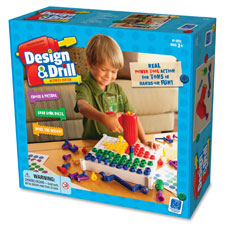 Design/drill activity center, 3/st, multi, sold as 1 set