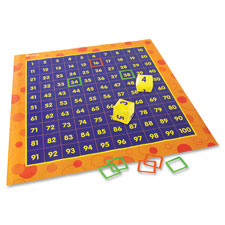 Hip hoppin hundreds mat, 4'x4', multi, sold as 1 each
