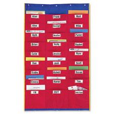 "Organization station, 27 pkts, 28-1/4""x45"", multi, sold as 1 each"