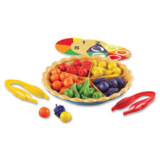 "Super sorting pie, 8-3/4"" d, 65pcs, multi, sold as 1 set"