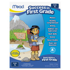 "1st grade, comprehensive workbook, 8-3/8""x10-7/8"", multi, sold as 1 each"