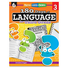 Teaching aid, 180 days of language, grade 3, sold as 1 each