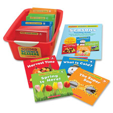 Guided science readers super set, seasons, 144 bks, multi, sold as 1 each