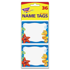 "Sea buddies terrific labels, 2-1/2""x3"", 36/pk, multi, sold as 1 package, 36 each per package"