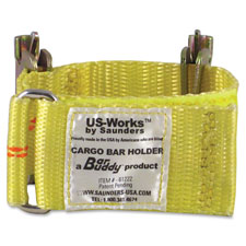 Bar buddy cargo bar holder, yellow, sold as 1 each