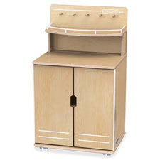 """Play kitchen, turemodern, cupboard, 34.5""""x20""""x15"""", baltic, sold as 1 each, 5 each per each"""