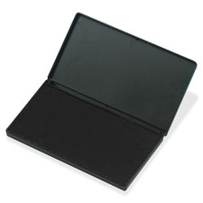 "Stamp pad, large, 6.25""x3.5"", black, sold as 1 each"