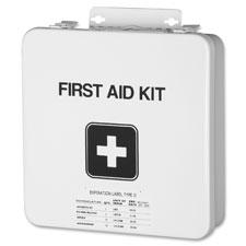 Field first aid kit, 8-10 person, white, sold as 1 each, 2500 each per each